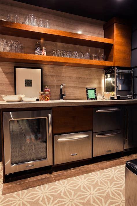 walk up bar cabinets alice lane home media rooms kitchenette basement