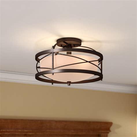wayfair light fixtures flush mount lighting you ll wayfair pertaining to