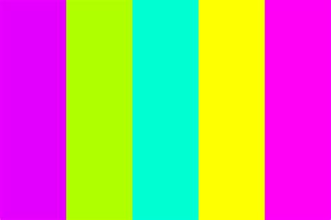 bright color palette bright as neon color palette color combination in 2019