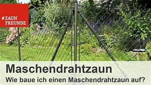 Wie Setze Ich Einen Zaun : wie baue ich einen maschendrahtzaun auf youtube ~ Articles-book.com Haus und Dekorationen