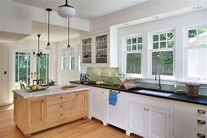 delorme designs white craftsman style kitchens With kitchen colors with white cabinets with art deco wall panels