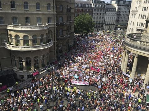 Thousands of women storm London in #BringTheNoise march ...