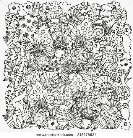 winter magic coloring book pages google search