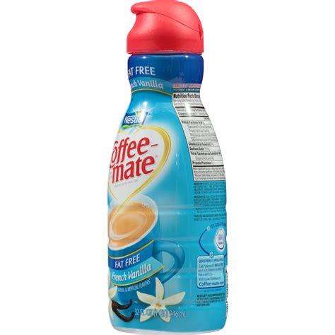 French vanilla sugar free liquid coffee creamer. Nutrition Facts For Coffee Mate French Vanilla Creamer ...