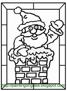 free coloring pages of christmas stain glass With christmas stained glass window templates