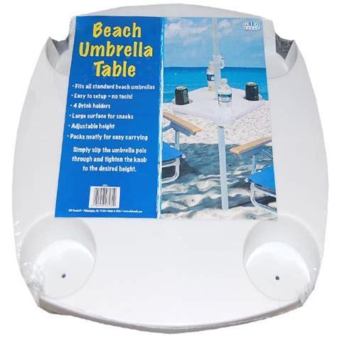 """Rio Brands Portable """"easy 2 Use"""" Umbrella Caddy Table For"""