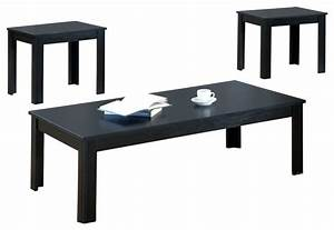 table set 3 piece set black coffee table sets by With 3 piece coffee table set black