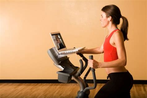 Surfshelf Treadmill Desk Laptop by Surfshelf Treadmill Desk Laptop And Holder In The