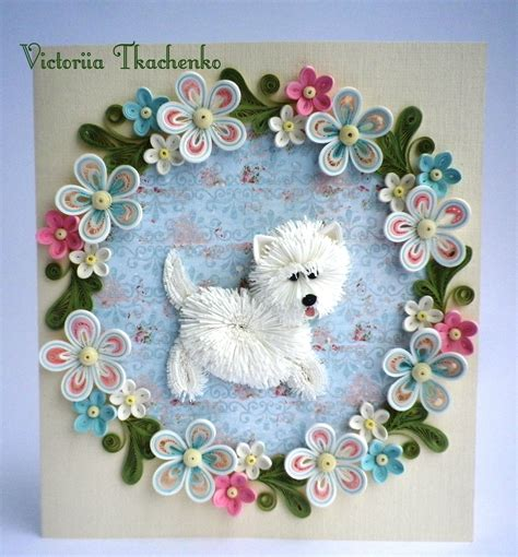 quilling card anniversary quilling card love quilling