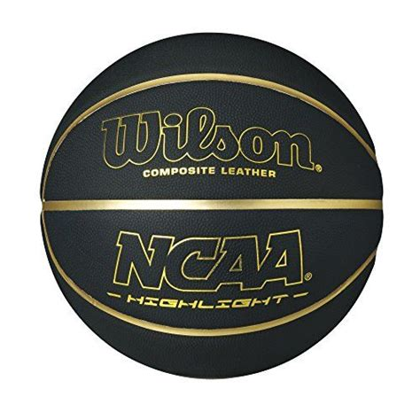 wilson ncaa hilight composite leather basketball official
