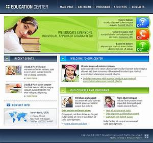 education website template 12909 With html education templates free download