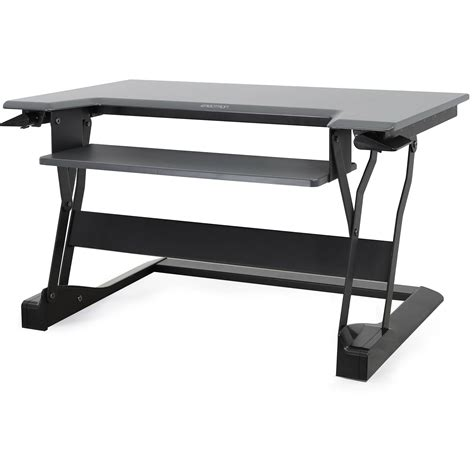 ergotron sit stand desk mount ergotron workfit t sit stand desktop workstation 33 397