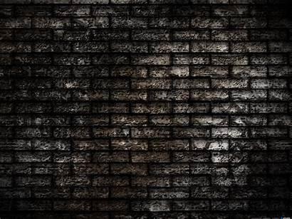 Texture Wall Dark Brick Seamless Background Brown