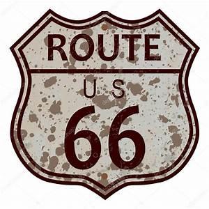Route 66 Schild : route 66 schild verwittert stockvektor 90821782 ~ Whattoseeinmadrid.com Haus und Dekorationen