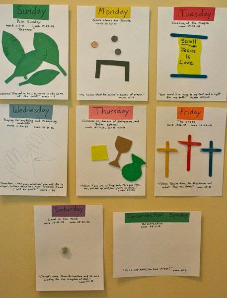 holy week craft ideas 17 best images about lent ideas for on 4685