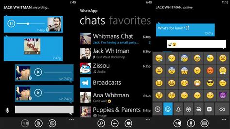 whatsapp on windows phone updated to version 2 16 288