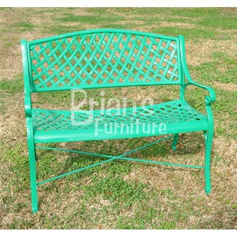 weave loveseat outdoor furniture cast aluminum