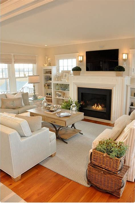 Small Living Room Ideas With Fireplace by 20 Living Room With Fireplace That Will Warm You All