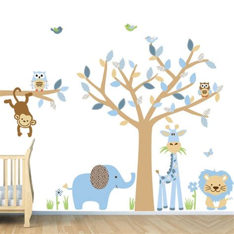 wall stickers  baby boy room personalised goodnight