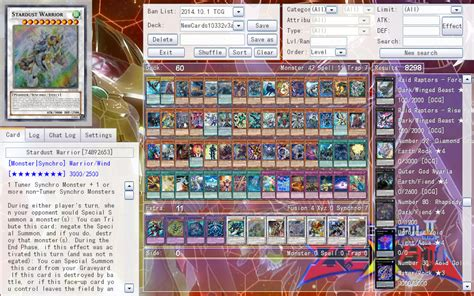 Yugioh Synchro Structure Deck by Ygopro Yugioh News And Updates Released Ygopro 1 033 2