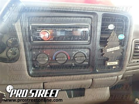 How Chevy Tahoe Stereo Wiring Diagram Pro Street