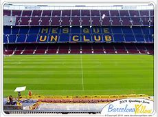 Pictures Camp Nou stadium & FC Barcelona museum