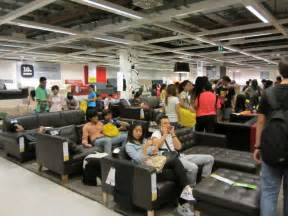 broken dreams ikea bans customers   store sleeping