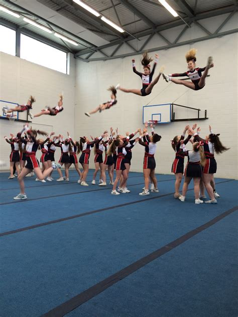 cheerleading hillview school tonbridge kent uk