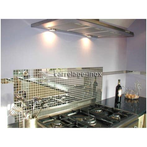 carrelage inox cuisine carrelage inox poli miroir mosaique faience miroir 25 carrelage inox fr