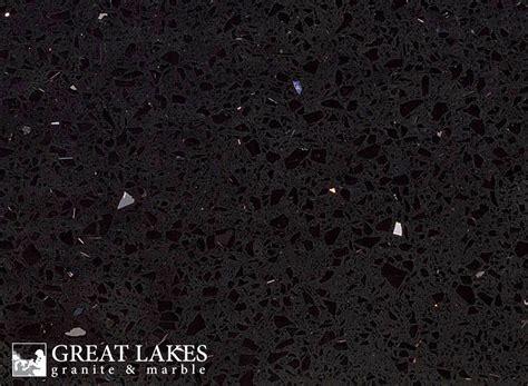 sparkling black quartz great lakes granite marble