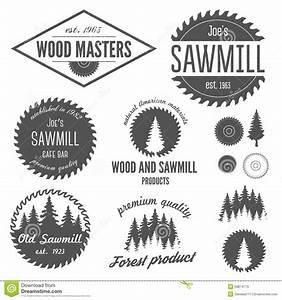 Set Of Logo, Labels, Badges And Logotype Elements Stock