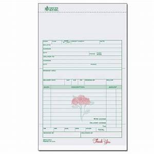 florists flower shop invoices receipts designsnprint With florist invoice template