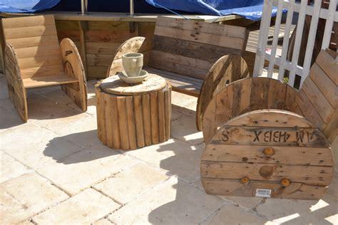salon de jardin avec palette en bois gallery of