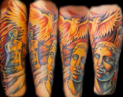 powerline tattoo tattoos  sleeve roman sleeve