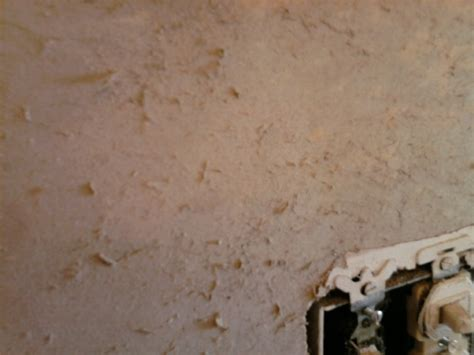 fuzzy drywall  removing wallpaper