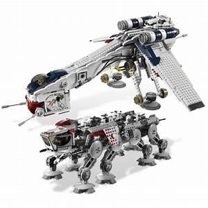 LEGO Republic Dropship with AT-OT Walker Set 10195 | Brick ...