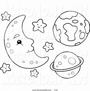 Royalty Free Crescent Moon Stock Astronomy Designs