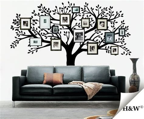 00s Home Decor : Family+photos+tree++wall+decals++home+decor+by+homewall+on