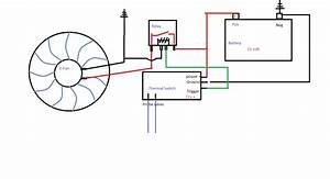 12 Volt Cooling Fan Relay Wiring Diagram
