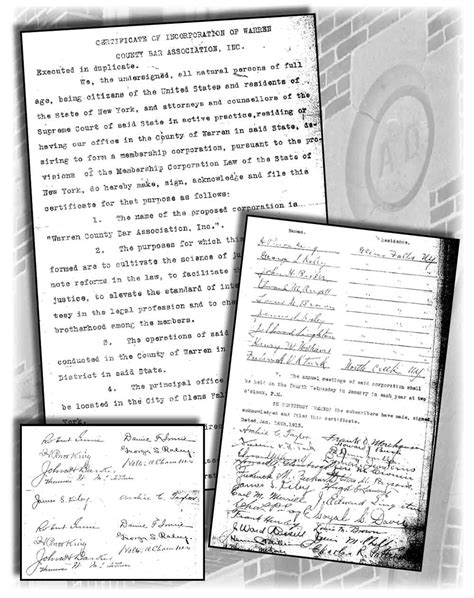 History - Warren County Bar Association