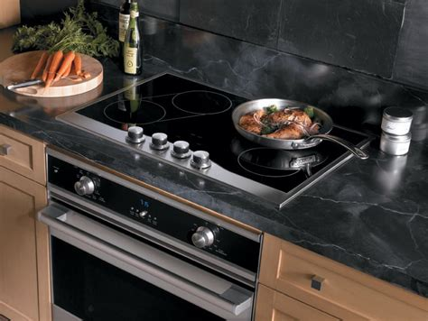 electric cooktop viking inch kitchen smoothtop surface push turn knob controls element elements bridge feature safety ajmadison