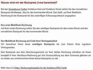 Rechnung Vodafone : vodafone rechnung screenshot ~ Themetempest.com Abrechnung