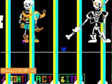 scratchink papyrus battledemoundertale fangamesubtitles  english youtube