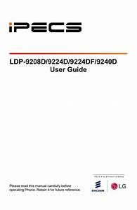 Ldp 9224d  9224df  9240d User Guide
