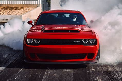2018 Dodge Challenger Srt Demon Revealed In Pictures By