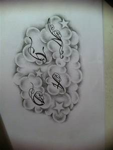 clouds tattoo design by tattoosuzette on DeviantArt