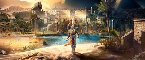 wallpaper video games assassins creed origins desert