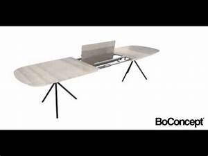 Table Bo Concept : boconcept ottawa extendable dining table sydney australia danish furniture store youtube ~ Melissatoandfro.com Idées de Décoration