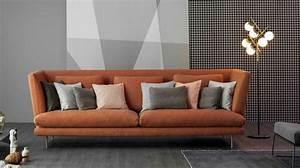 Canape Design Et Confortable : canap pas cher en cuir convertible notre choix de canap s c t maison ~ Teatrodelosmanantiales.com Idées de Décoration