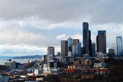 Seattle Skyline Rizal Park Wikipedia Library Jose